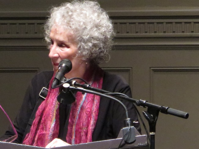 Margaret Atwood at Town Hall, Seattle