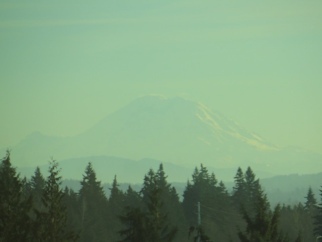 Mt. Rainier from Tulalip Casino Resort