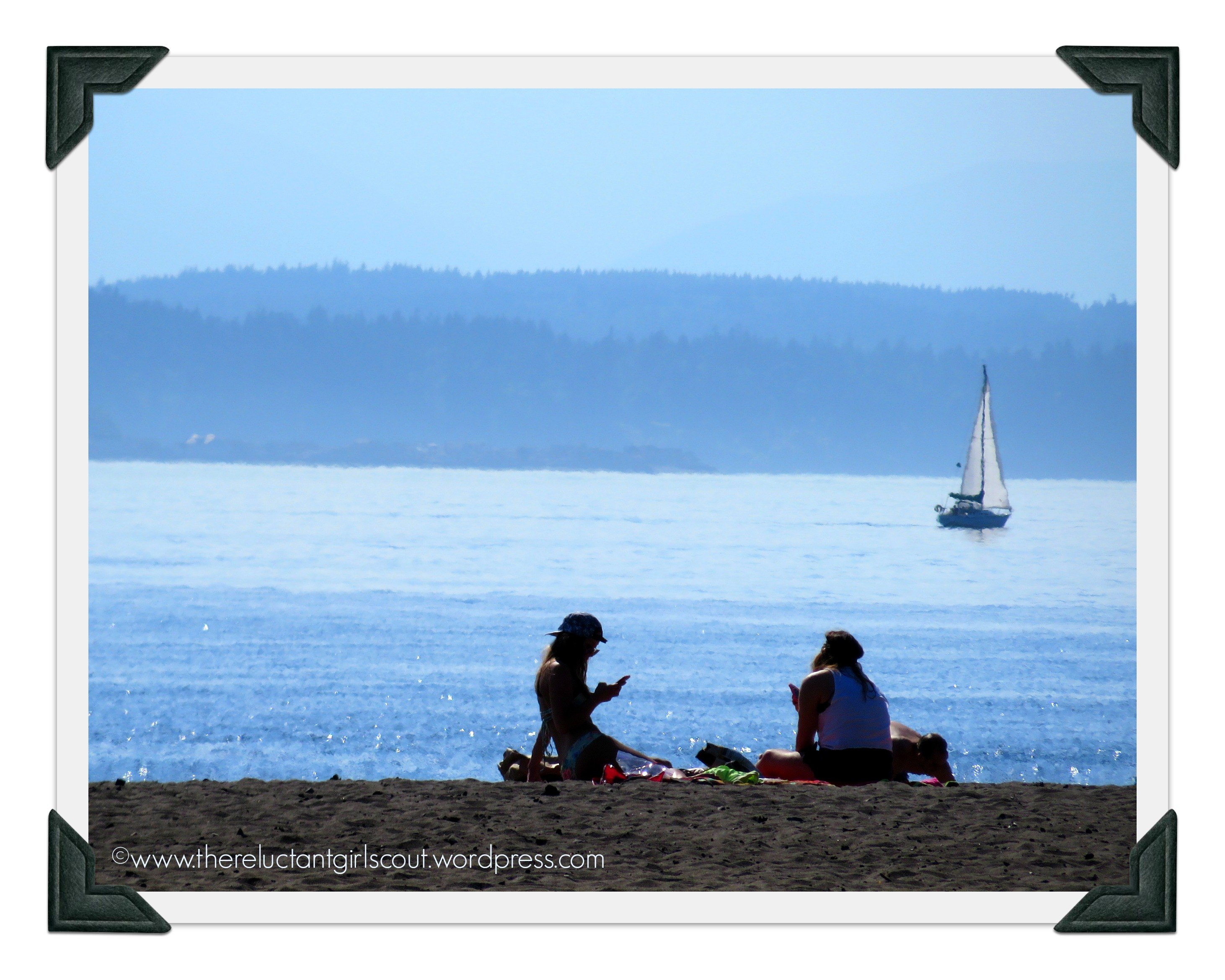 Not me and G, Puget Sound, 2014