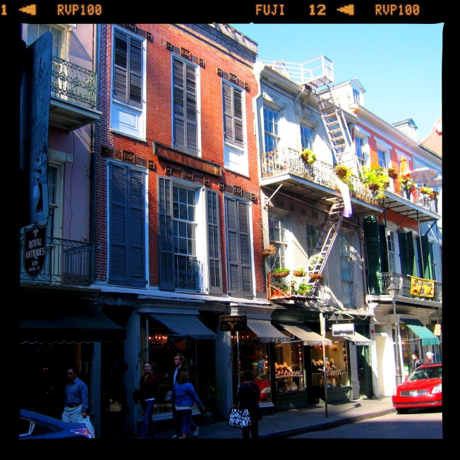 Not Treme. The French Quarter.
