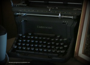 Betty MacDonald's Underwood