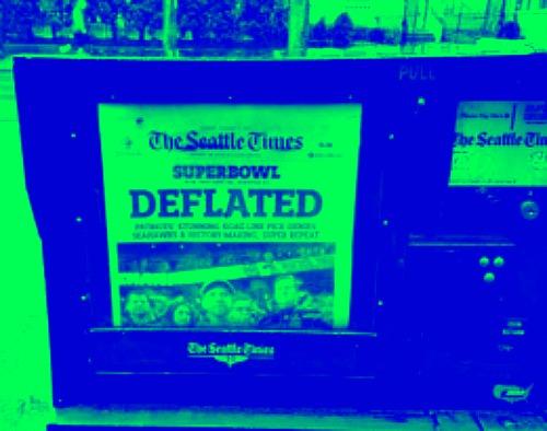 Seattle Times headline today.