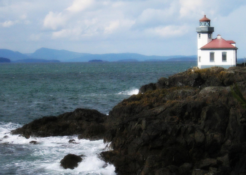 Lighthouse, San Juan Island