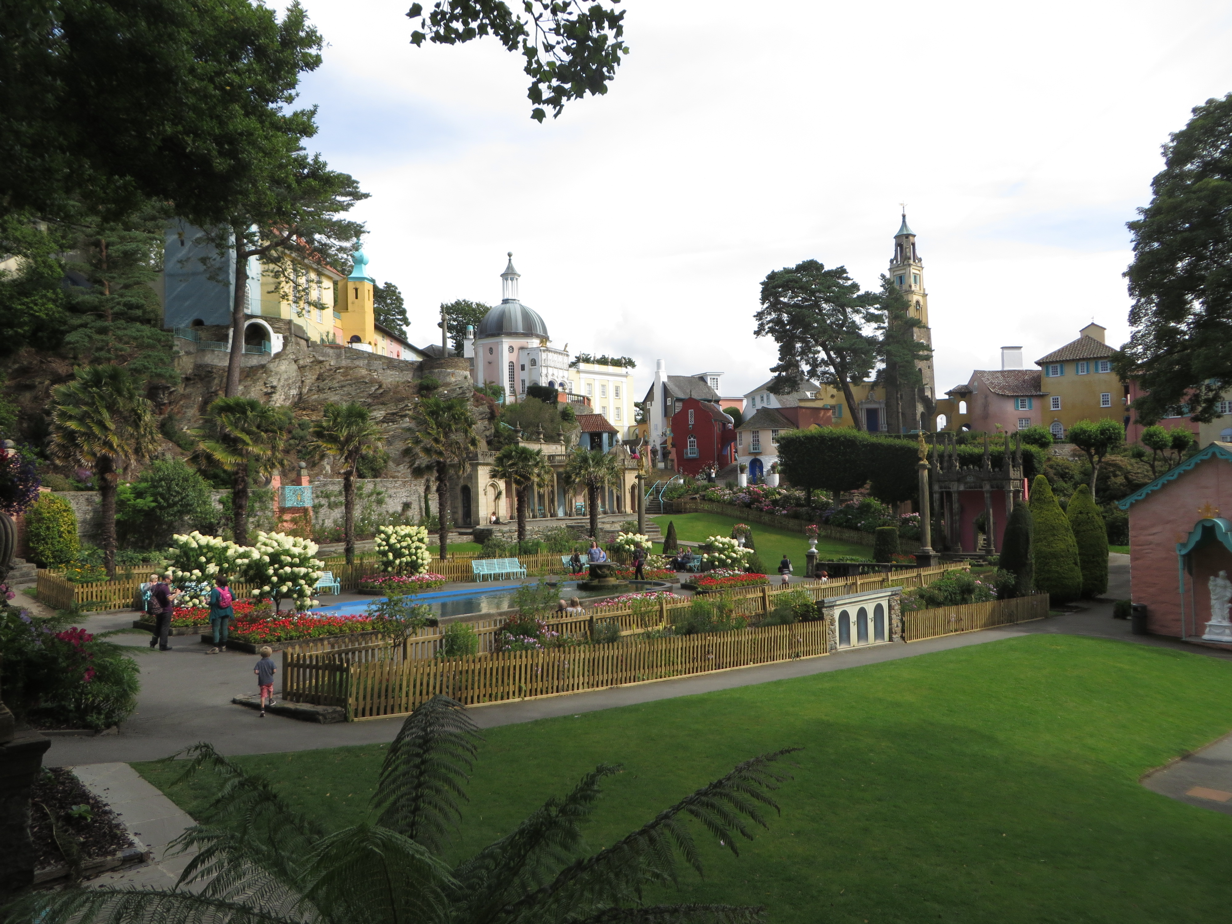 Portmeirion, where all is not as it appears