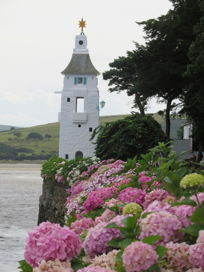 There is no light in the Portmeirion lighthouse