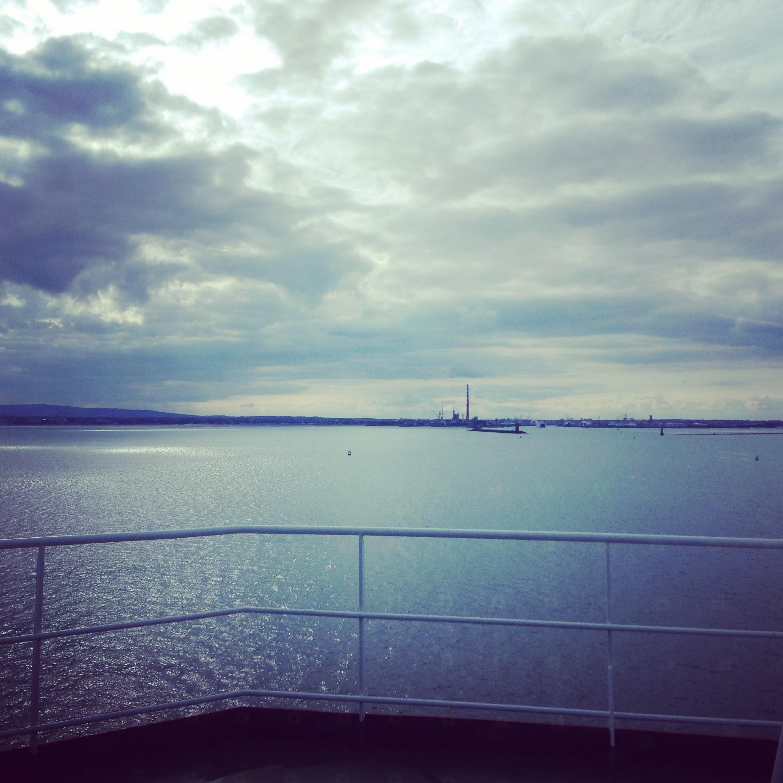 Dublin from the Irish Sea